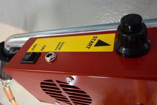 Eco Propan P5 - InfraWeeder, ovládací jednotka